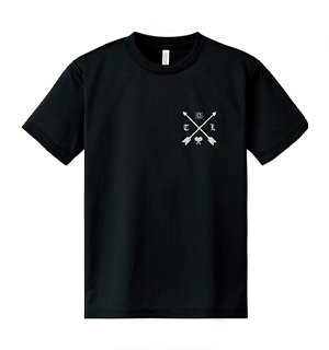 高瀬統也×テニスラウンジ コラボTシャツ Black